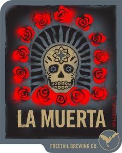Freetail Brewing's La Muerta, by The MAD House