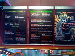 New Menu Board
