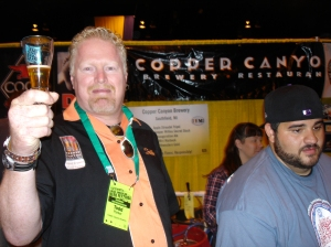 Todd Parker of Copper Canyon Brewing.