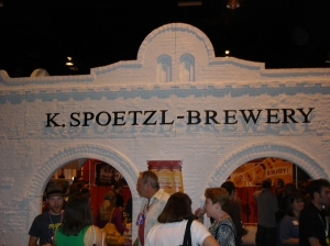 The Shiner folks were there with a Spoetzl replica.
