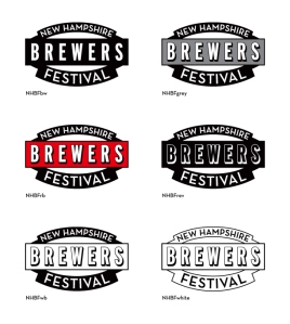 New Hampshire Brewers Festival logos by The MAD House designer Steve Chandler