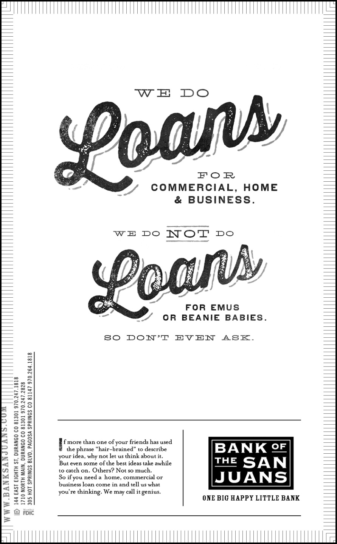Bank's Loan Campaign Sweet Like Sugar | madhouselarry's Blog