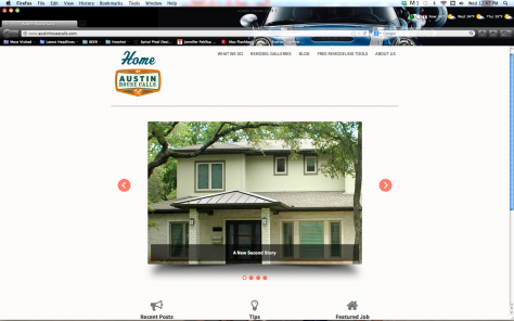 Home by Austin House Calls web site