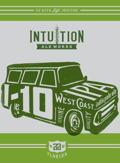 Intuition Ale Works 1-10 West Coast IPA